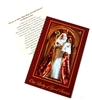Our Lady of Good Success Red Paper Holy Card
