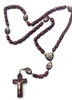 Our Lady Undoer of Knots Wood Bead Rosary