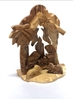 Olive Wood Nativity Set from The Holy Land