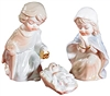 CHILDLIKE NATIVITY PORCELAIN SET PD172
