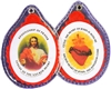 Sacred Heart of Jesus Badge PL869