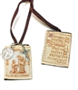 100% Wool Brown Scapular RAPL877