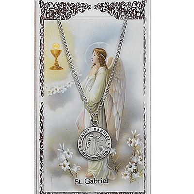 Patron Saints Prayer Card & Pendant