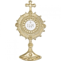 Holy Eucharist Monstrance Pin