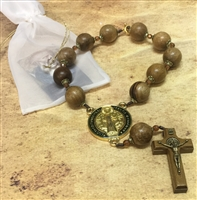 Saint Benedict Door Rosary with Gift Bag