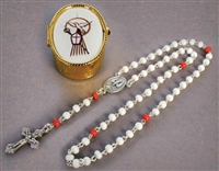 Confirmation Rosary and Case R58CNF