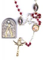 Divine Mercy Rosary and Plaque Set
