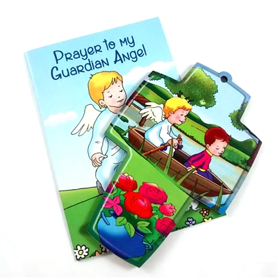 Guardian Angel Cross and Booklet Set