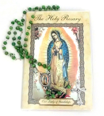 The Holy Rosary Booklet and Rosary Set