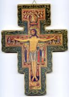 San Damiano Wall Crucifix - Different Sizes Available