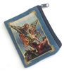Saint Michael Cloth Rosary Pouch 25-500-MK