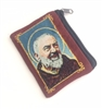 Saint Padre Pio Cloth Rosary Pouch 25-500-PP