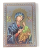 Italian Designed Our Lady of Perpetual Help Wood Wall Plaque 47-300-LP