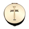 Latin Cross Gold-Plated Pyx