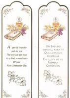 Paper First Holy Communion Bookmark