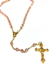 October Birthstone Bead Gold Rosary