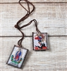 Our Lady of Guadalupe and Saint Michael Brown Scapular