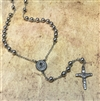 Stainless Steel Saint Benedict Rosary