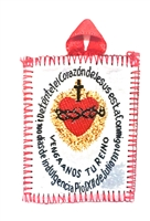 Sacred Heart Cloth Badge