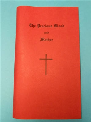 The Precious Blood and Mother  Prayerbook