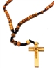Olive Wood 8MM Bead Cord Rosary