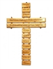 "9"" Olive Wood The Our Father Wall Cross"