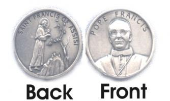 Pope Francis Coin