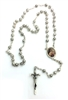 St. Therese Silver Rosebud Rosary