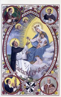 Garland of Roses Rosary Book