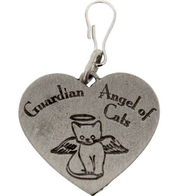 Guardian Angel Cat Medal