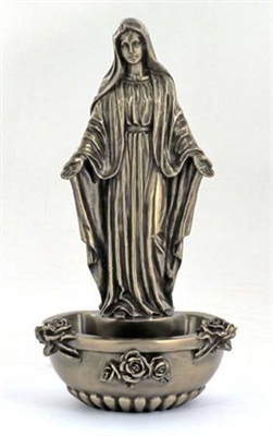 Our Lady of Grace Holy Water Font SR-75377