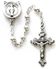 4mm All Sterling Silver Child's 1st Communion Rosary SS235