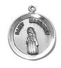 Sterling Silver Patron Saint Margaret Medal SS529-223
