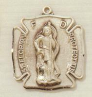 St. Florian,  Patron Saint of FIREFIGHTERS Medal