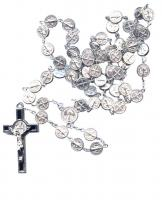 All Metal St. Benedict Rosary