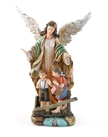 "9"" Guardian Angel Statue"