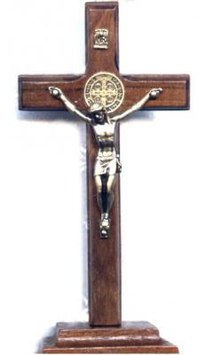 Stand-up St. Benedict Crucifix
