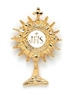 Monstrance Lapel Pin BK-P11158