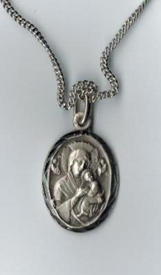 Our Lady of Perpetual Help Sterling Medal