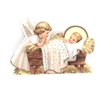 Christmas Little Angel with Baby Jesus Scene X90-2