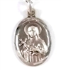 Sterling Silver Saint Therese Medal from Green