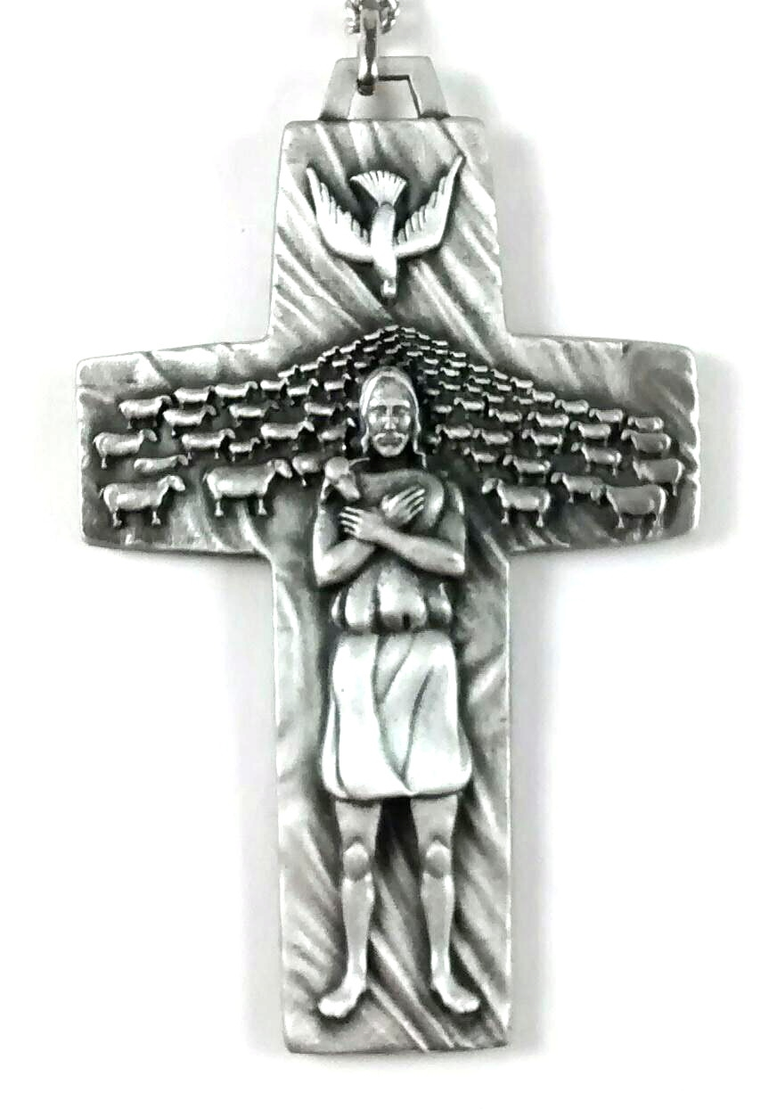 Francis cross with chain crspfl pope francis cross with chain crspfl mozeypictures Gallery