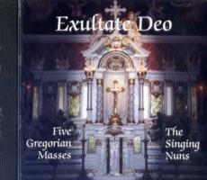 Exultate Deo, 5 Gregorian Masses, by the Singing Nuns CD