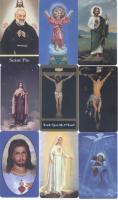 Plastic Holy Cards