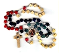 Mission Rosary Lens Crucifix