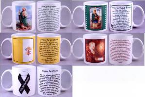 More 11 oz.  Religious Coffee Mugs
