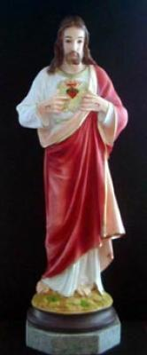 "25"" Sacred Heart Statue"