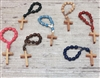 Wood Bead Finger Rosary