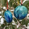 Blue Gravity Wave Ornament