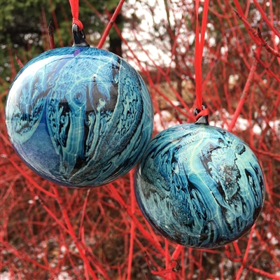 Blue New Mexico Ornament